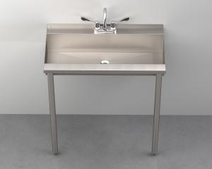 SW130 One-Station Trough Sink